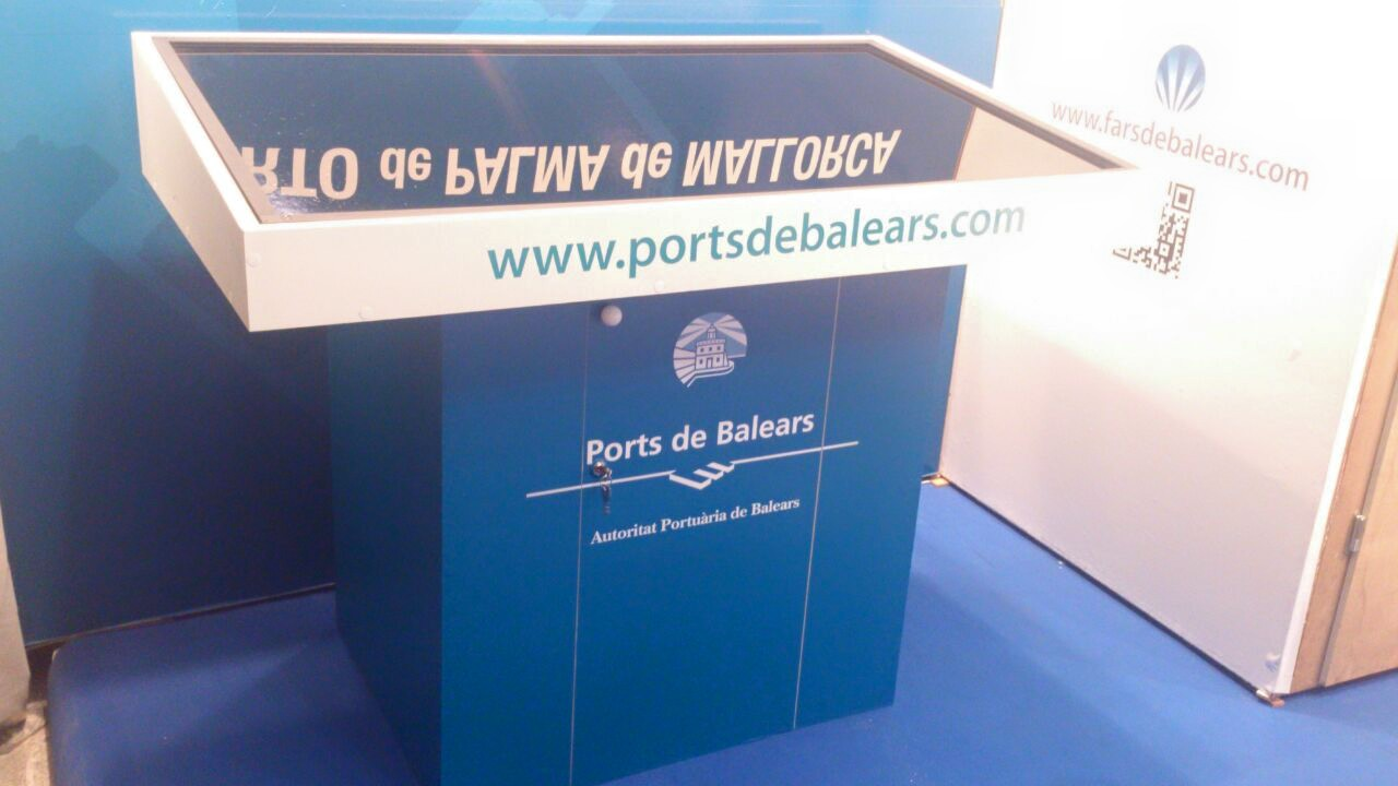 stand port balears baleares comar